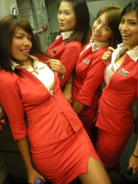 Happy flight with AirAsia